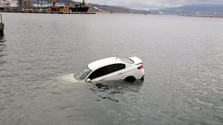 Denize uçtu! Balıkesir'de akılalmaz kaza