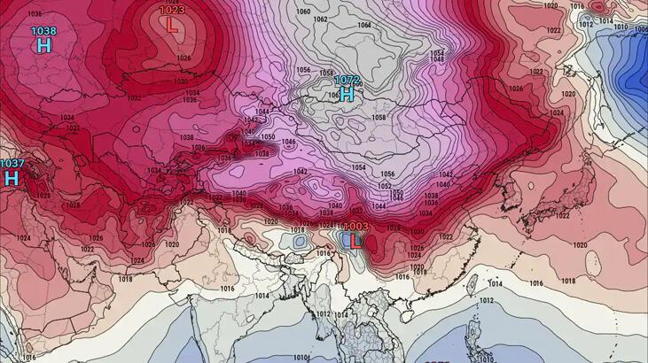 Dünya yüksek hava basıncı rekoru kırılmış olabilir