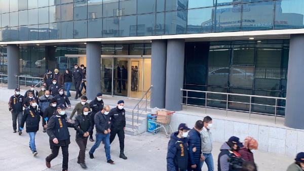 Bursa'da büyük vurgun yapmışlar! 21 gözaltı…