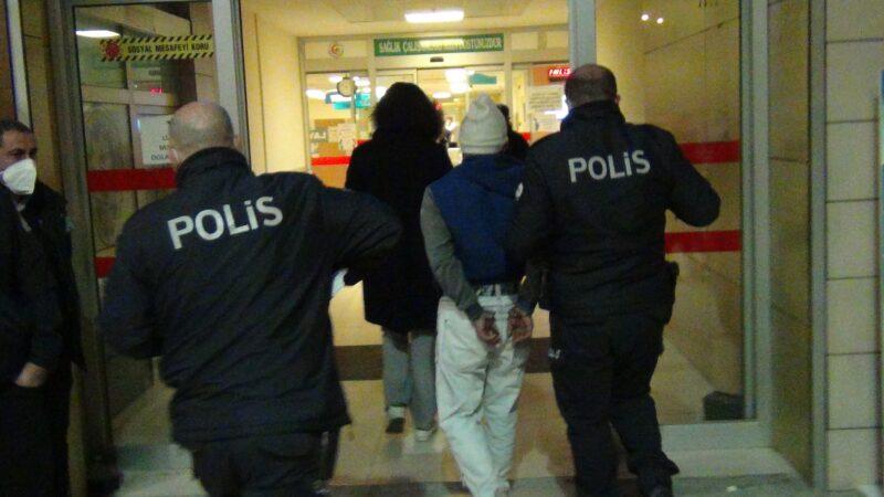 Bursa'da kısıtlamaya uymayan kardeşler terör estirdi: 3 polis yaralı