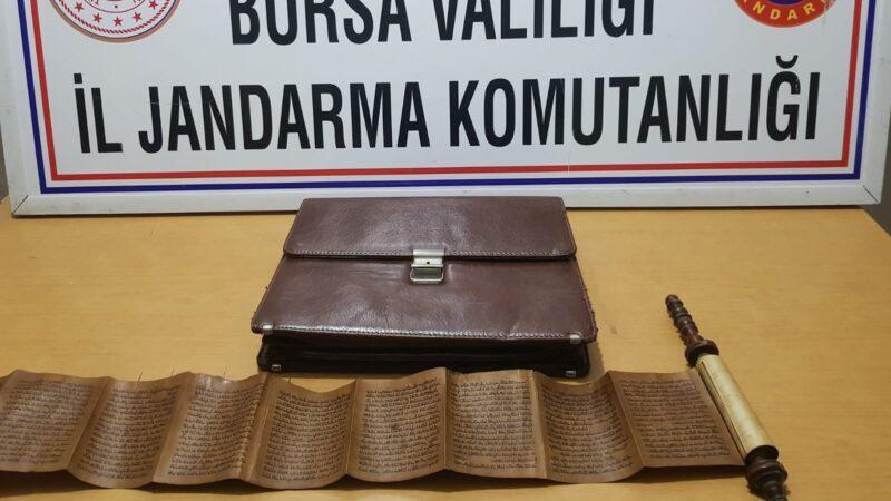 Bursa'da satacaklardı! Suçüstü yakalandılar