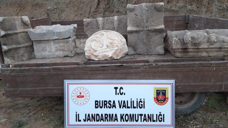 Bursa'da şok operasyon! Kazdıkları çukurda yakalandılar
