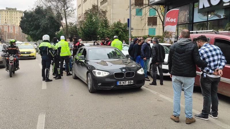 Yer: Bursa… Yeniden trafiğe çıkınca yakalandılar