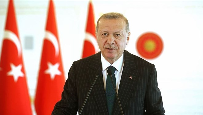 Cumhurbaşkanı Erdoğan'dan koronaya karşı dayanışma mesajı