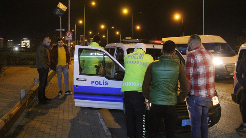 Yer: Bursa… Kısıtlamaya uymadılar, cezayı yediler