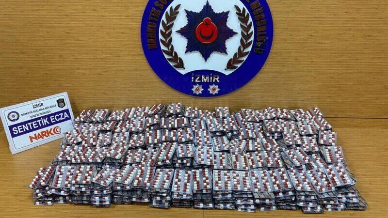 16 bin 800 uyuşturucu hap ele geçirildi