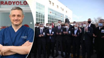 Bursa'da koronavirüse yenik düşmüştü! 'Yılın doktoru'na gözyaşlarıyla veda