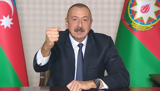 Aliyev Fransa'yı hedef aldı: Çok istiyorlarsa Marsilya'yı Ermenilere versinler