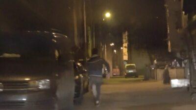 Görüntüler Bursa'dan… Polis böyle kovaladı