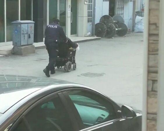 Bursa Polisi'nden 'insanlık ölmemiş' dedirten hareket