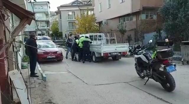 Yer: Bursa… Maskesiz sürücü cezadan kaçamadı