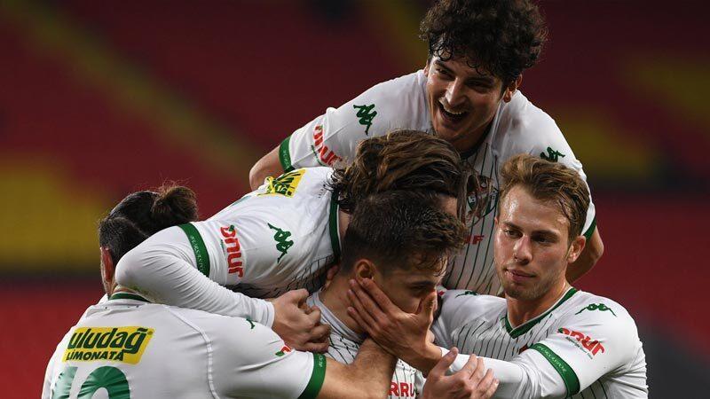 Bursaspor, ligde ve kupada her maç gol atan tek takım