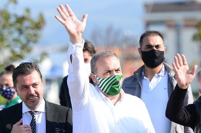 Bursaspor Başkanı Kamat'tan mesaj var; Ortak bir gelecek hedefi…