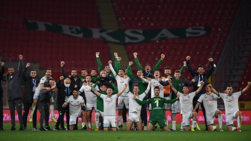 Bursaspor geçen sezona çok yakın!