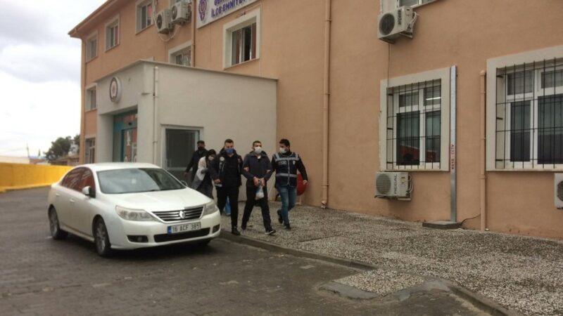 Yer: Bursa… Cezaevinden izinli çıktı, uyuşturucu ticaretinden yakalandı
