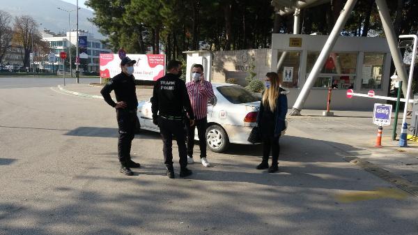 Bursa'da pes dedirten olay! Kısıtlamaya rağmen çıktı, ehliyetsiz yakalandı