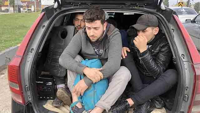 Hatay'da 12 düzensiz göçmen yakalandı