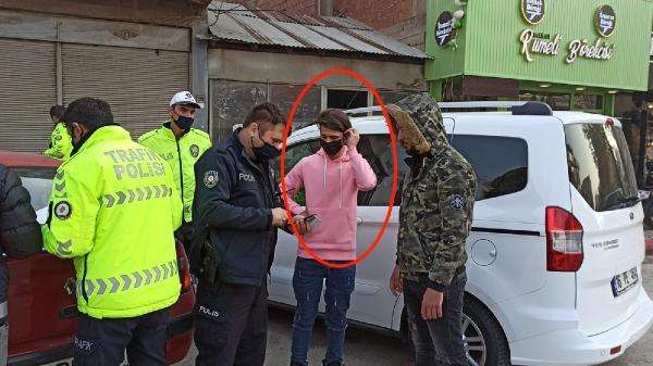 Kısıtlamaya uymayan Suriyeli kaçağa ceza