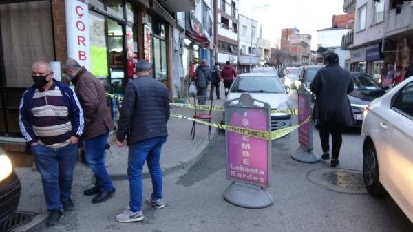 Bursa'da çorbacı önünde dehşet