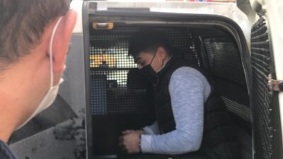 Gazetecilere saldıran zanlı adliyeye sevk edildi