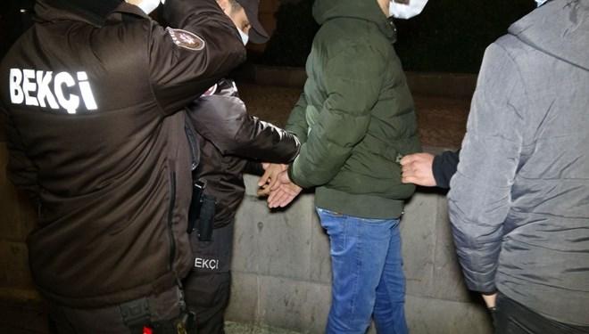 Yer: Bursa… Aranan genç, polise adres sorunca gözaltına alındı