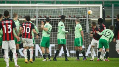 Perdeyi Hakan açtı Milan farklı kazandı!