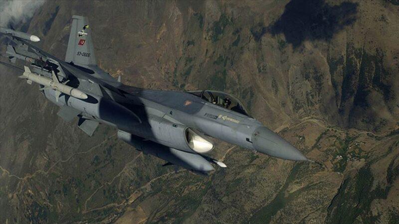 Irak'ın kuzeyine hava harekatı: 3 PKK'lı etkisiz hale getirildi