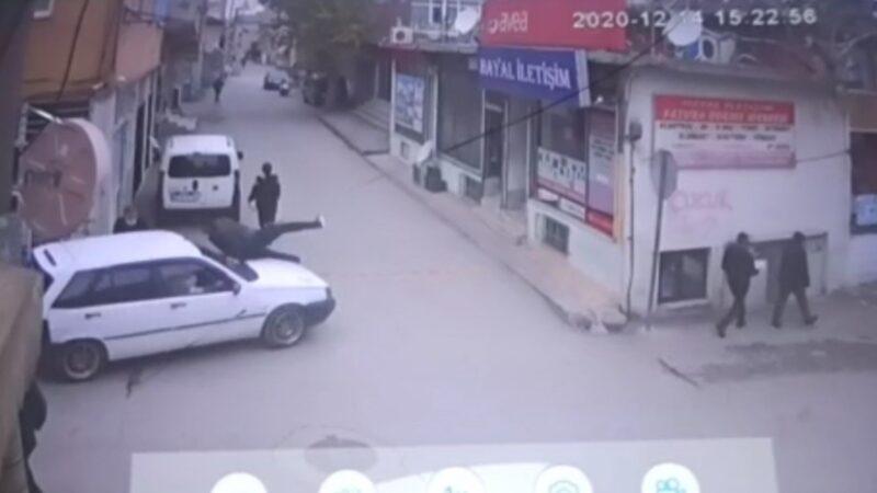 Bursa'da intikam için dehşet saçtı