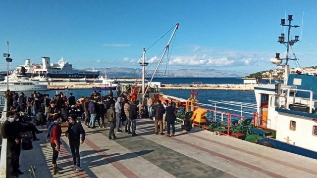 İzmir'de 187 sığınmacı yakalandı