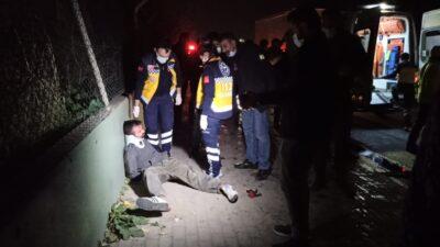 Bursa'da kardeşinden çaldığı kamyonla dehşet saçtı