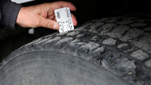 875 araç sürücüsüne 'zorunlu kış lastiği' cezası