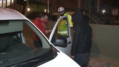 Bursa'da kısıtlamada otomobil ile alkollü şehir turu, polisi bile şaşkına çevirdi