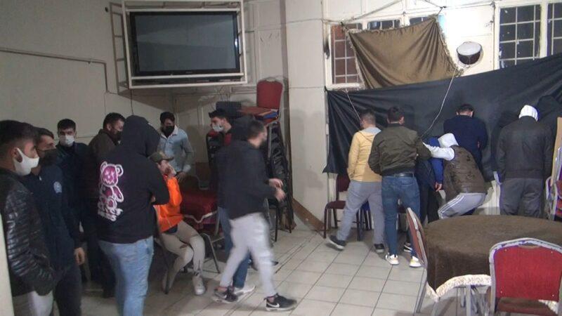 Bursa polisi kuş uçurtmadı! Böyle baskın yaptı