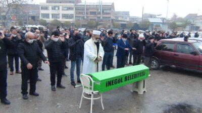 Bursa'da koronadan ölen muhtara son görev