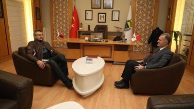 Kürşat Tüzmen'den Başkan Taban'a ziyaret