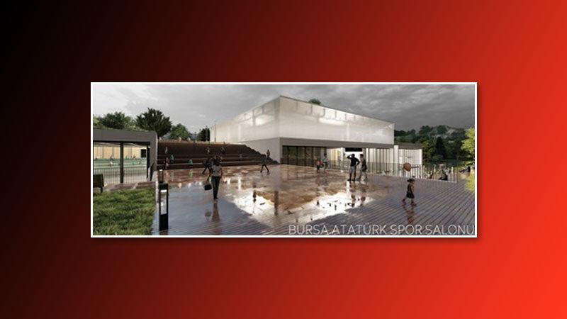 İşte yeni Atatürk Spor Salonu