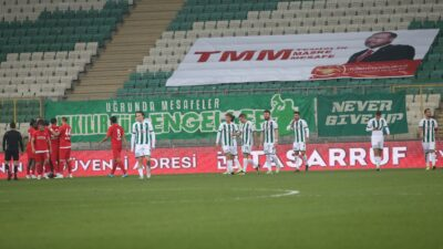 Bursa'da ikinci yarı! Timsah'ı umutlandıran gol…