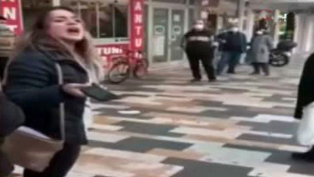 Maske takmadığı için polisleri tehdit eden kadına CİMER'den cevap: Boşuna zahmet edip yazma