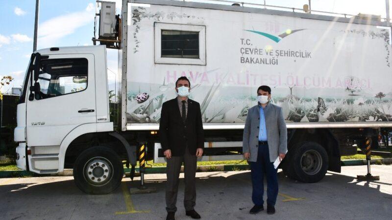 Mobil Hava Kalitesi Ölçüm İstasyonu Kestel'e kuruldu