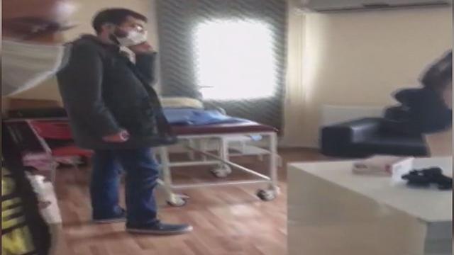 Kaçak doğumhaneye baskın: 2 tutuklama