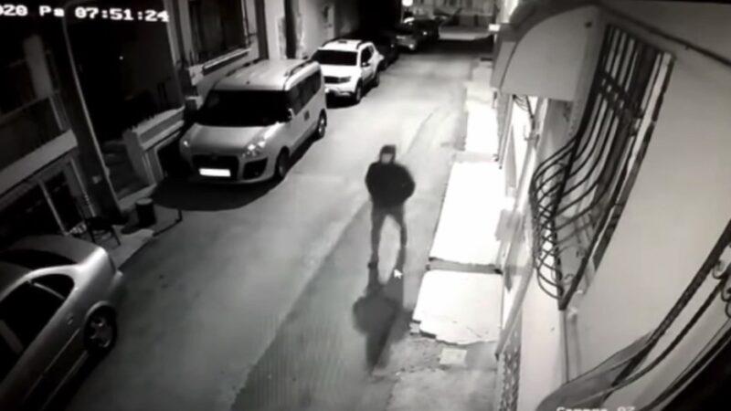 Yer: Bursa… 4 dakikada motosikleti çaldı! O anlar kamerada