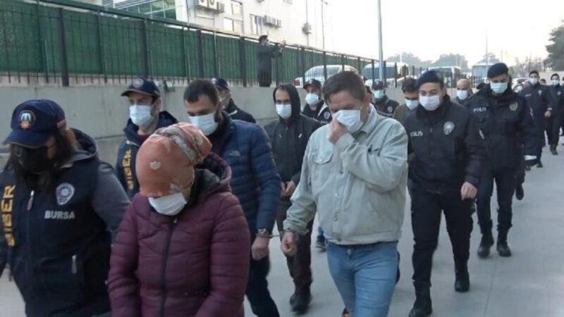Bursa merkezli 4 ilde 'siber dolandırıcılık' operasyonu: 15 tutuklama