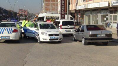 Bursa'da 'dur' ihtarına uymadı, cezayı yedi