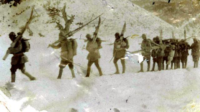 Sarıkamış Harekatı'na katılan askerlerin tarihi fotoğrafları