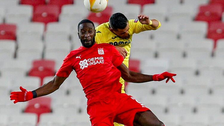 Sivasspor tur şansını son maça bıraktı…