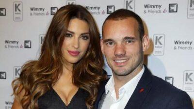 İhanetin fotoğrafı ortaya çıktı! Wesley Sneijder böyle yakalandı