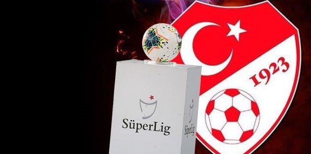 Süper Lig'de 4 haftalık program açıklandı…