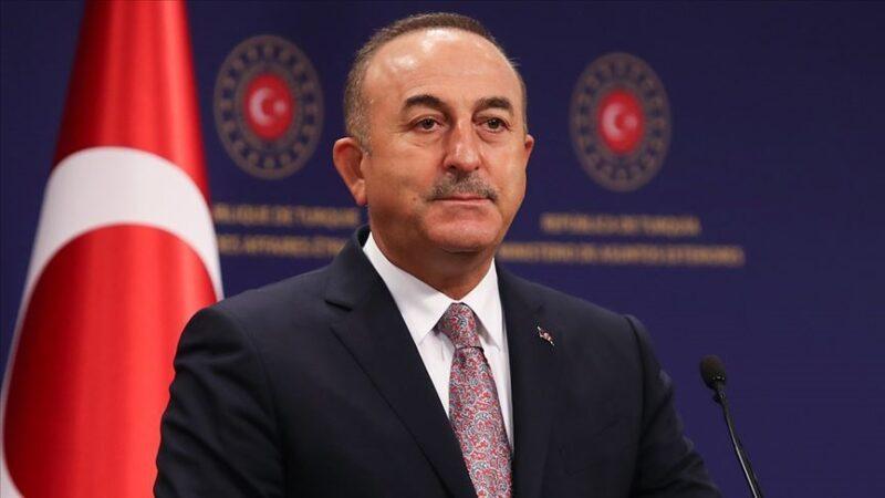 Çavuşoğlu, KKTC Cumhurbaşkanı Tatar ile telefonda görüştü