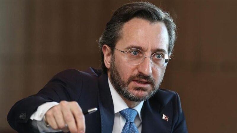 İletişim Başkanı Altun'dan İranlı siyasetçilere tepki
