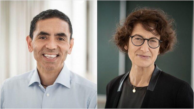 Financial Times'ın 'Yılın Kişisi Ödülü' Kovid-19 aşısını bulan Şahin ve Türeci'nin oldu